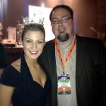 Travis Wright and Miss America 2013