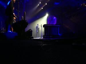 JT backstage