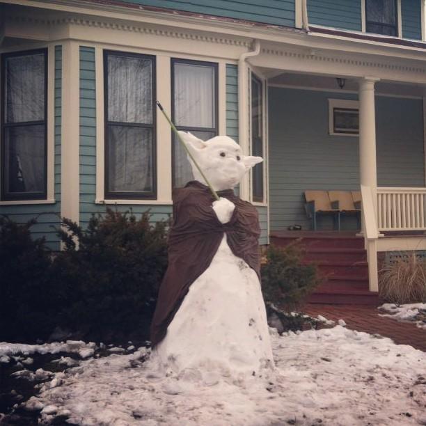 Snow Yoda – Travis Wright