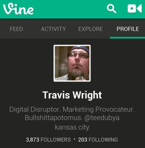 Travis Wright Vine